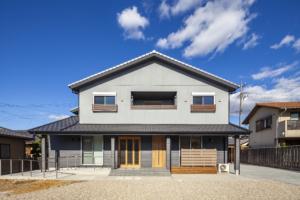 自由設計の注文住宅 安城の家
